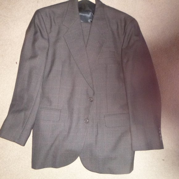 Today's Man Other - Today's Man Brookcraft 2 Button Brown Suit 42S W36